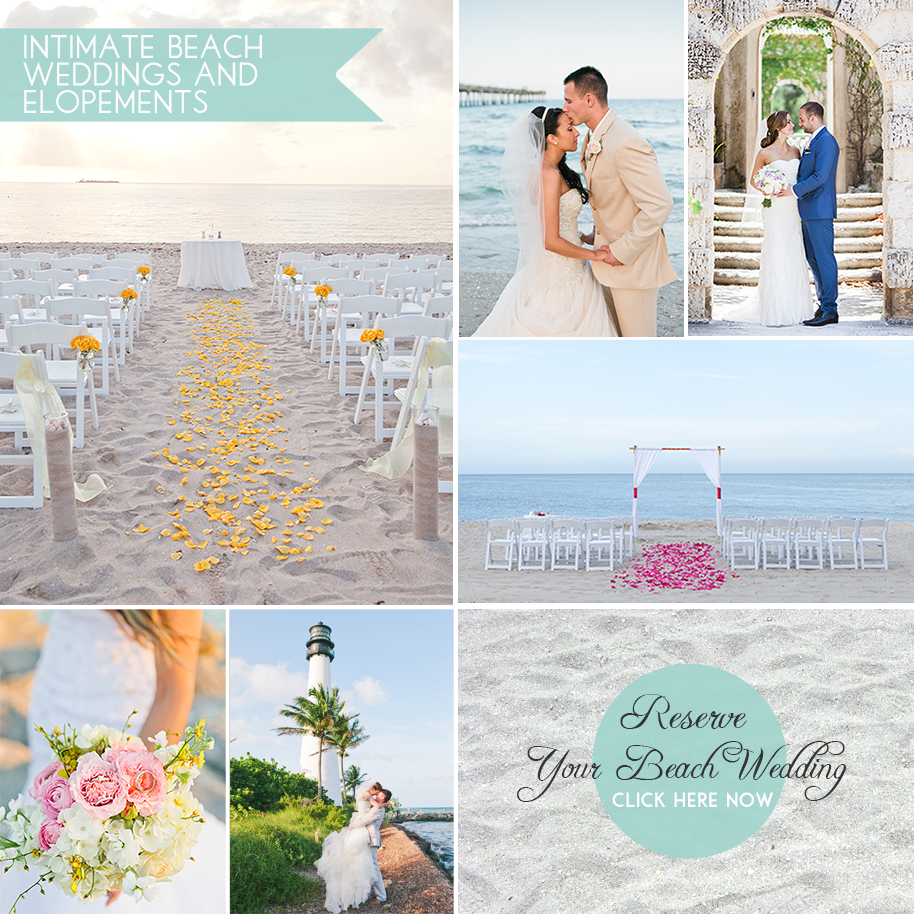 Beach Weddings In Miami Florida: The Premier Source For Affordable