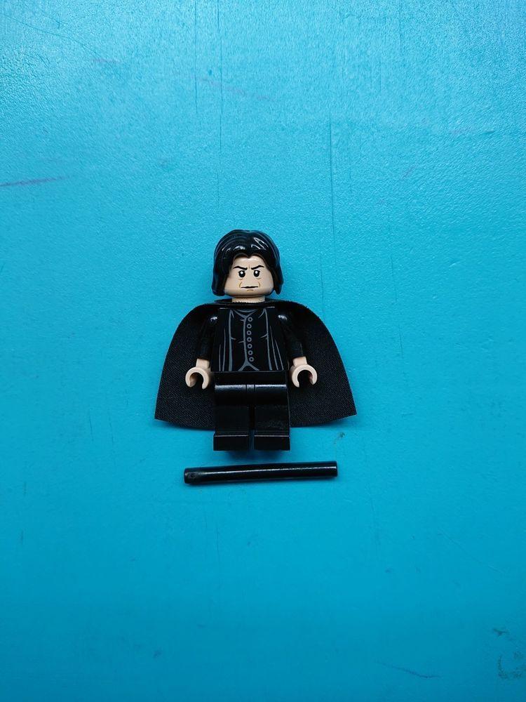 ecbe1eb2f Lego Harry Potter Minifigure Professor Severus Snape w  Wand Cape 4842  Hogwarts!  afflink
