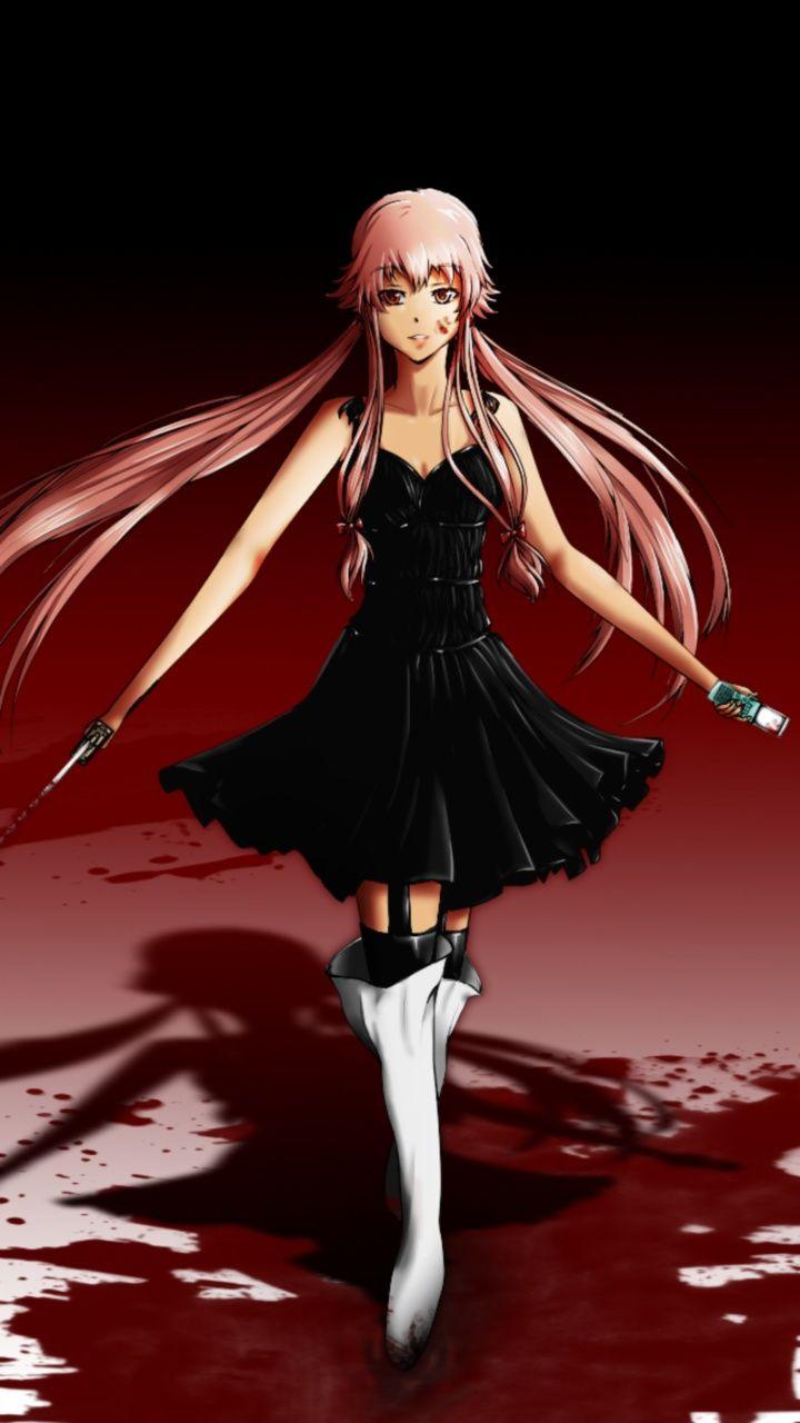28++ Yuno gasai black dress information
