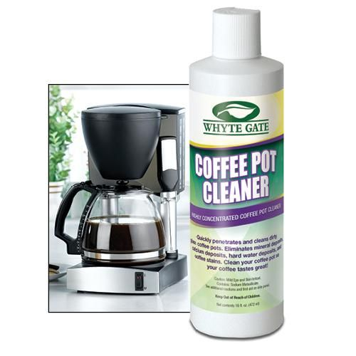 COFFEE POT AND MUG CLEANER | Get Organized