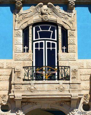 janela+Arte+Nova Portugal