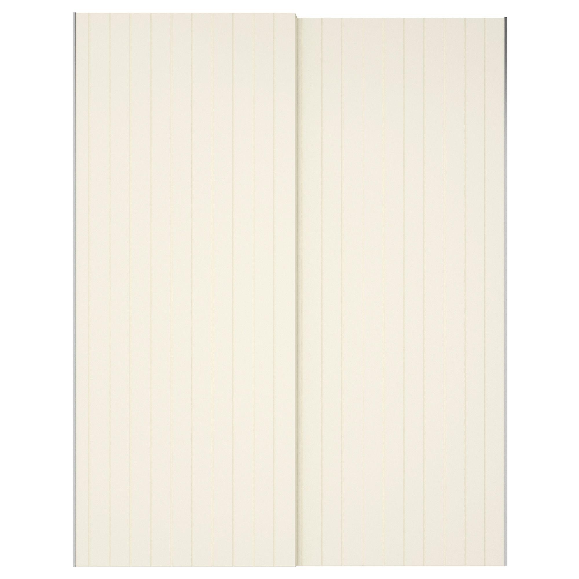 "BERGSFJORD Pair of sliding doors 59x92 7 8 "" IKEA"