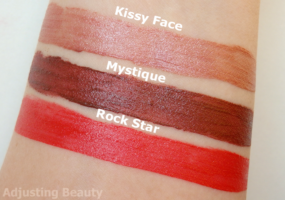 Review Avon Mark Liquid Lip Lacquer Matte Kissy Face Mystique