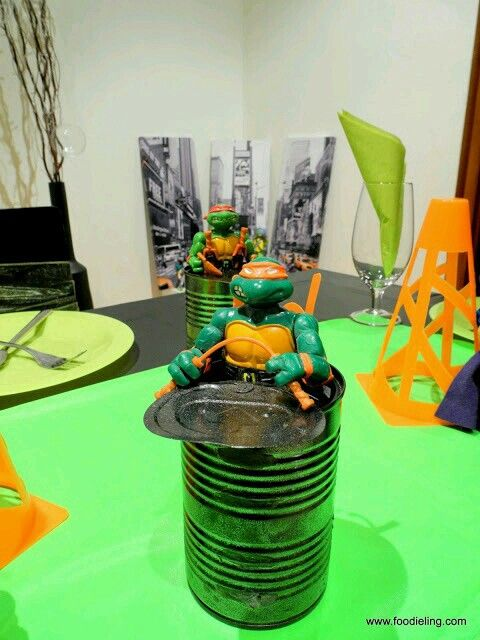 Ninja Turtles Party - Turtles from the sewer! & Pin by luz Du0027la torre on party decoration   Pinterest   Ninja ...