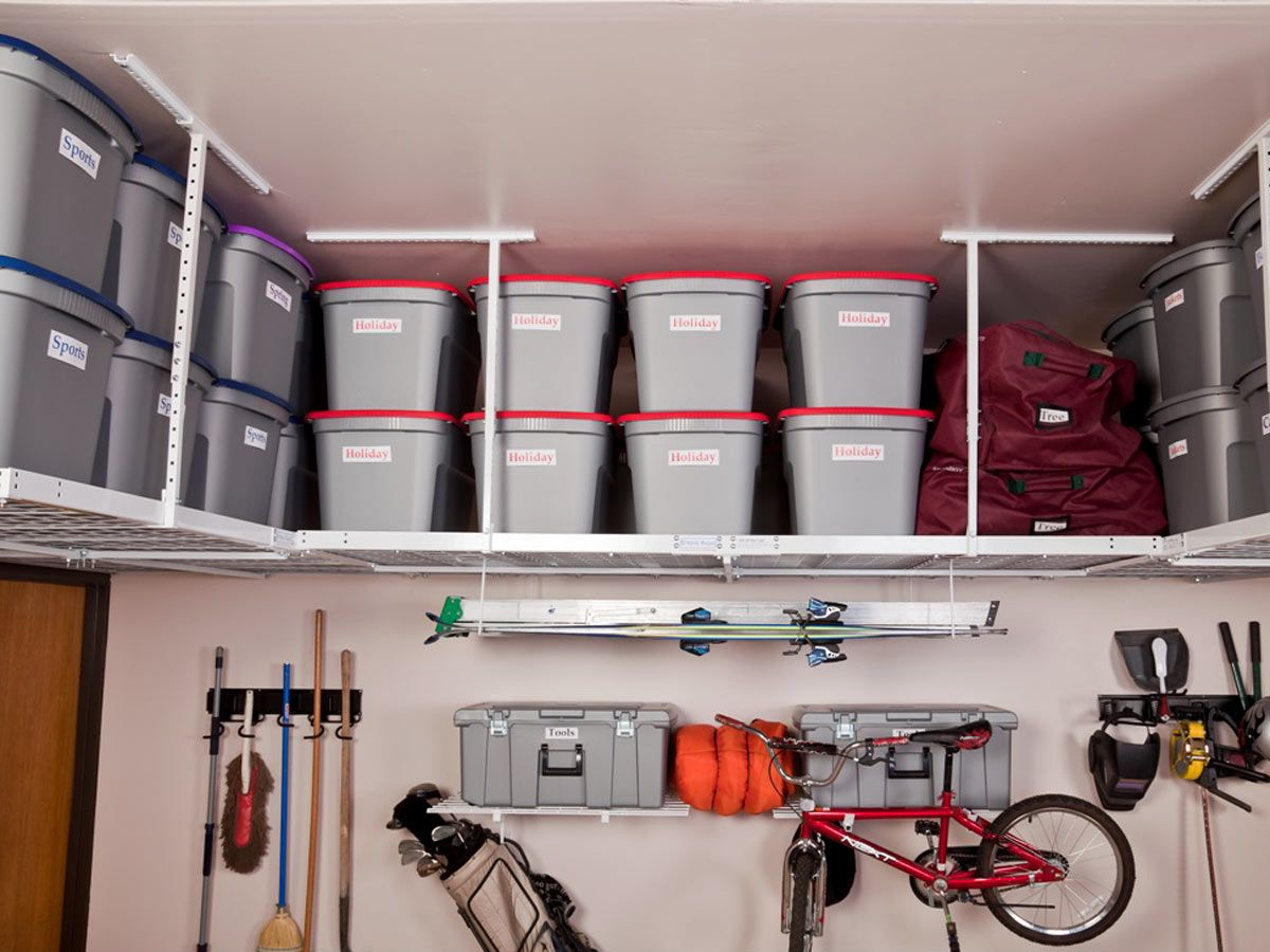 how to build overhead garage storage space | Minimalist Home Design ...