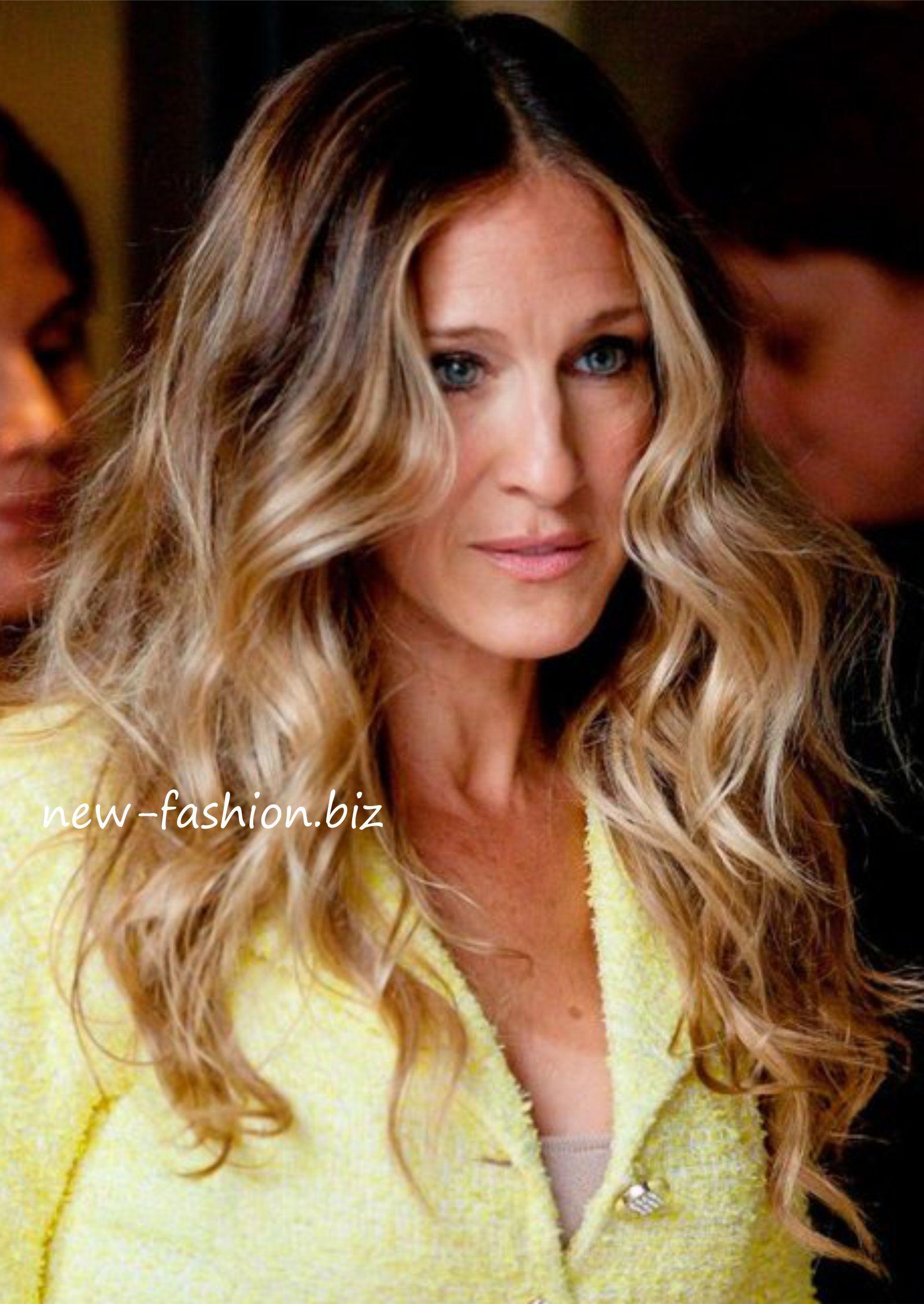 Sarah Jessica Parker Sarah Jessica Parker Haare Haarschonheit Balayage Frisur