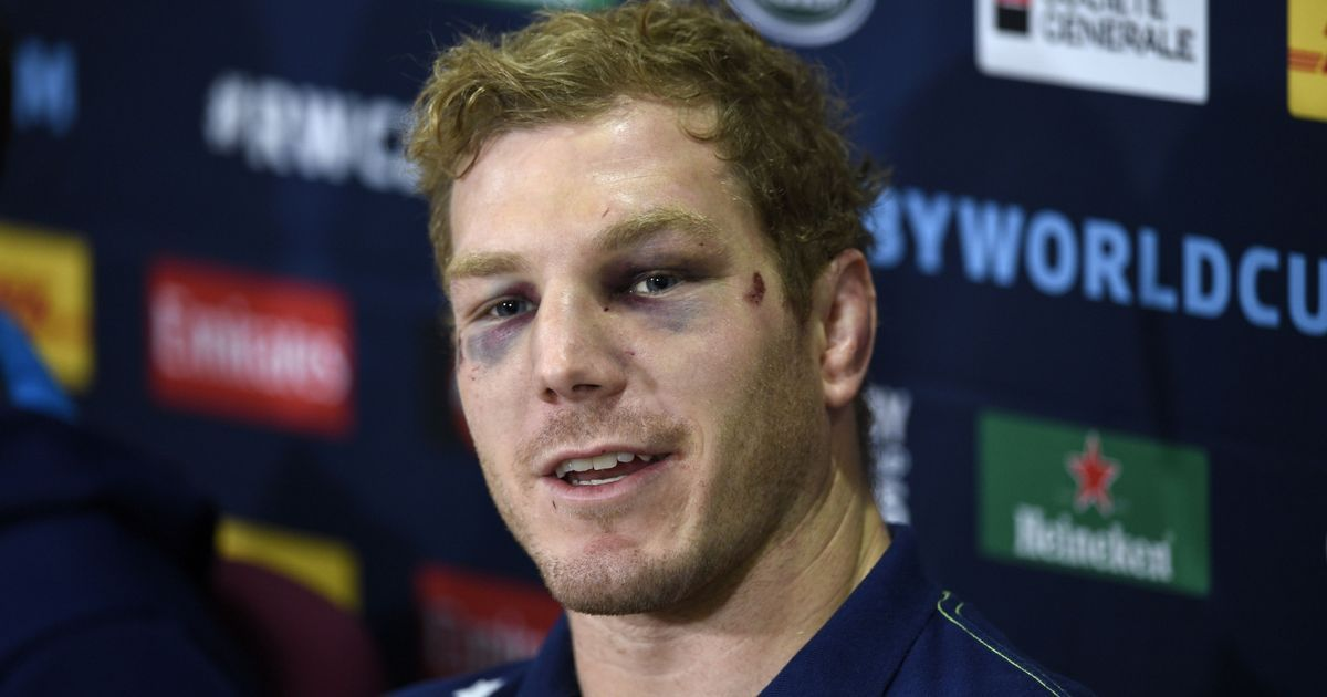 """Five days out from the final, the World Cup's outstanding player said """"there's more to life than chasing a rugby ball"""""""