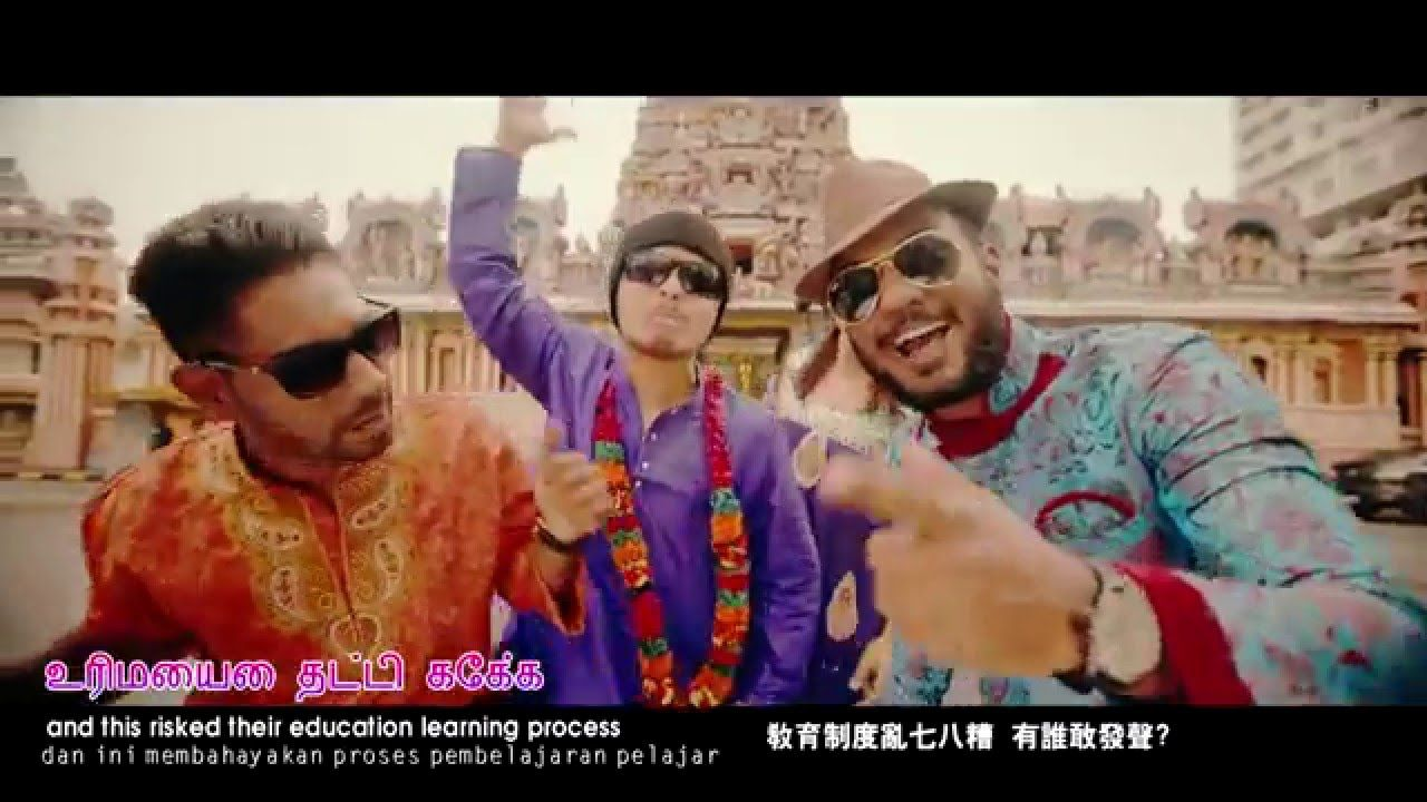 LITTLE INDIA! - Namewee+Vinz'+Jeyaganesh (Malaysian Funny Rap Song!)