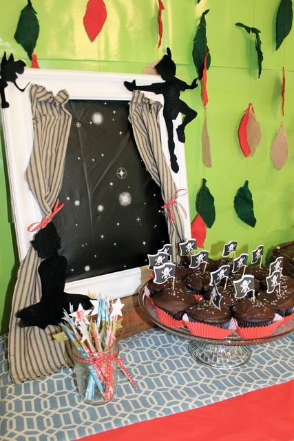 Cute Book Themed Baby Showers Peter Pan Party Cute Baby Shower Ideas Peter Pan