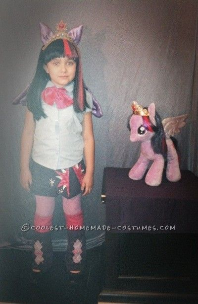 My Little Pony Equestria Girls, Princess Twilight Sparkle Costume... Coolest Homemade Costumes