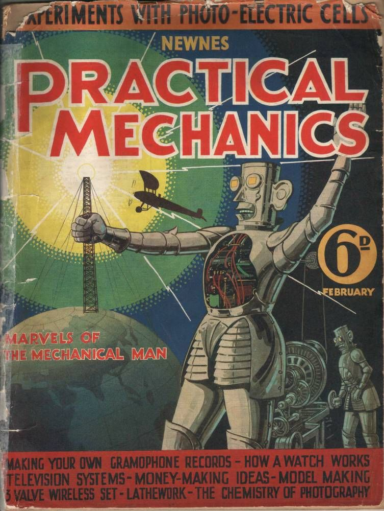 Delightful Practical Mechanics Feb1934
