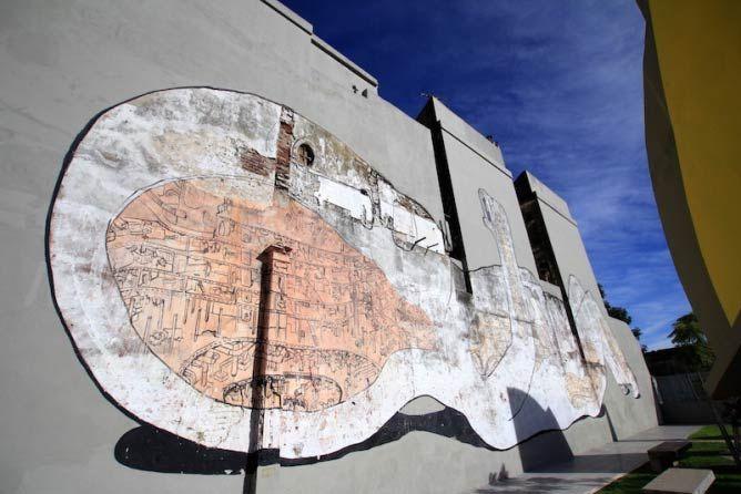 Mural in Villa Urquiza by Blu | © Buenos Aires Street Art