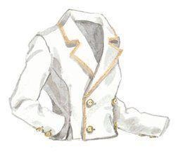1936 Linen Jacket #olivia Pope