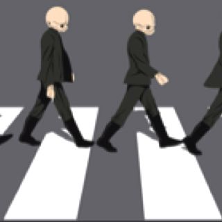 Abbey road to the cantina