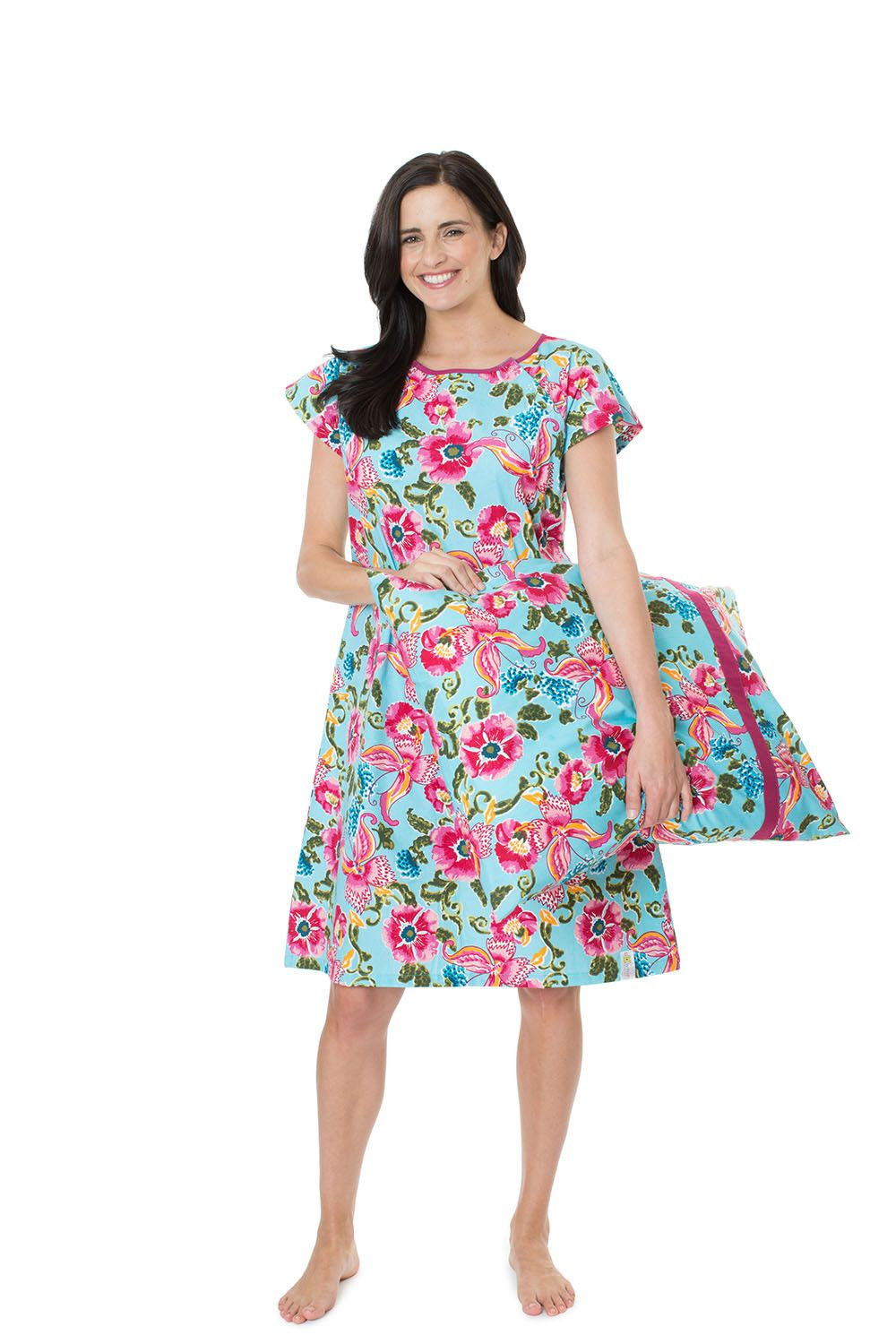Isabelle Maternity Labor Delivery Hospital Gown Gownie & Matching ...