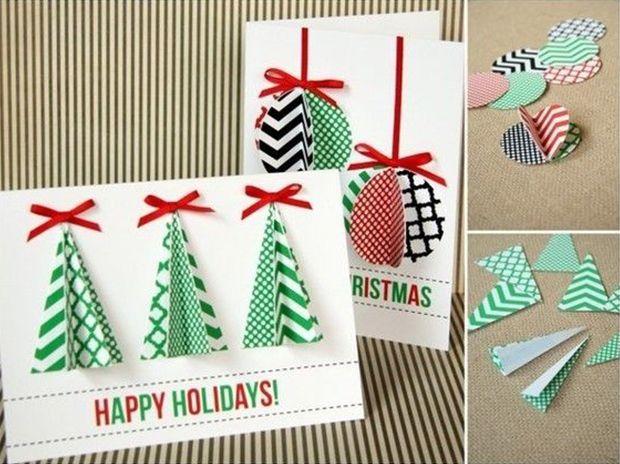 postales navidad hechas a mano - Buscar con Google Creando para