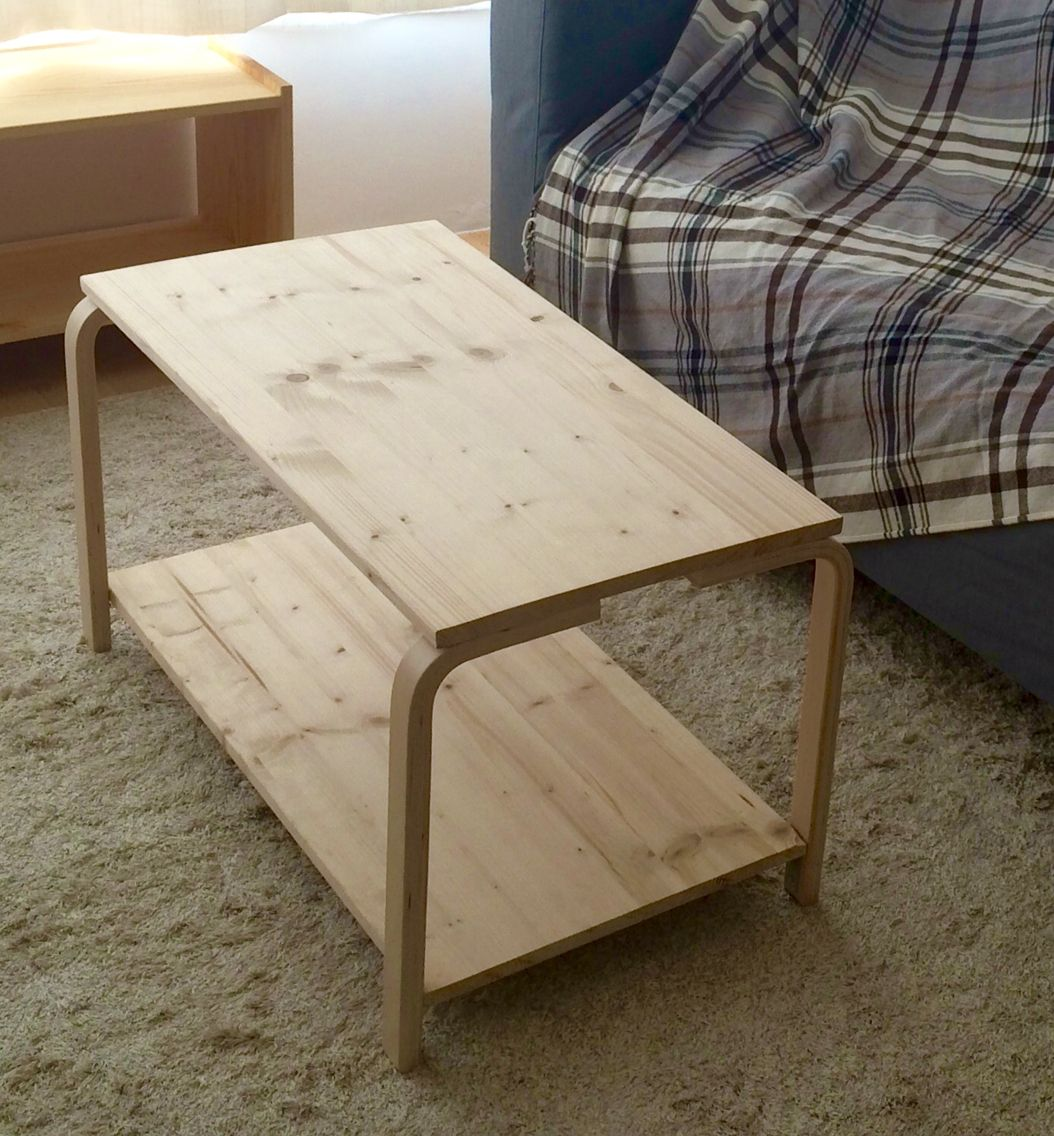 ikea hack 4 coffee table with legs from frosta stool we had some leftover legs from the frosta. Black Bedroom Furniture Sets. Home Design Ideas