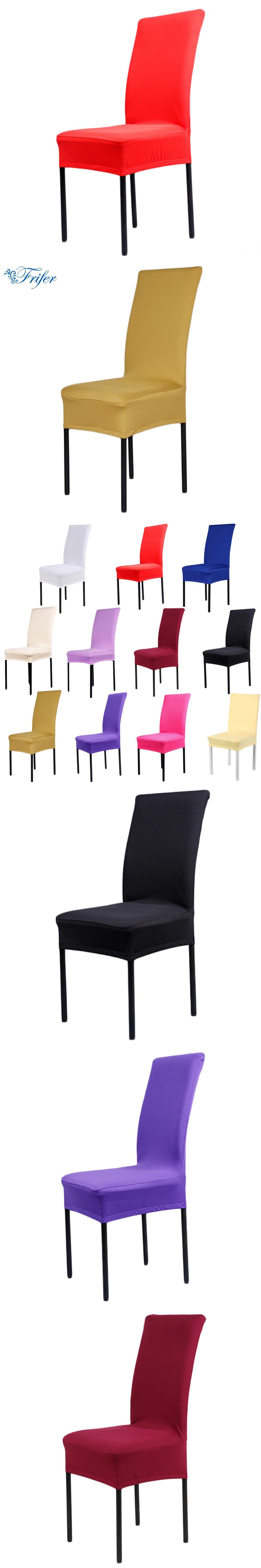 Home Chair Cover Removable Stretch Elastic Seat Covers Spandex