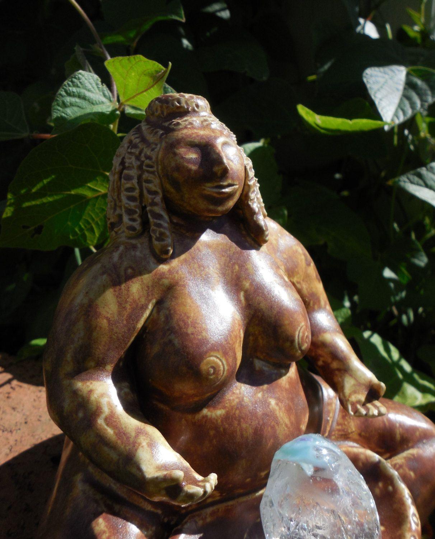 Garden Goddess by animaclay on Etsy   Dragonware Ceramic Sculpture ...