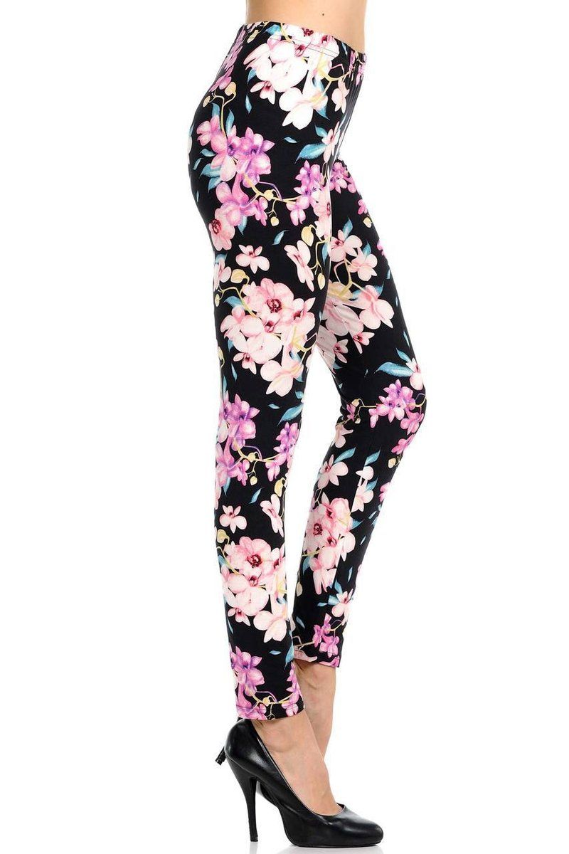 a9550828df79ba Buttery Soft Pretty in Pink Floral Leggings in 2019 | Buttery Soft ...