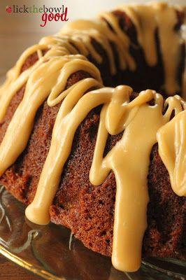Spice cake mix bundt cake recipes