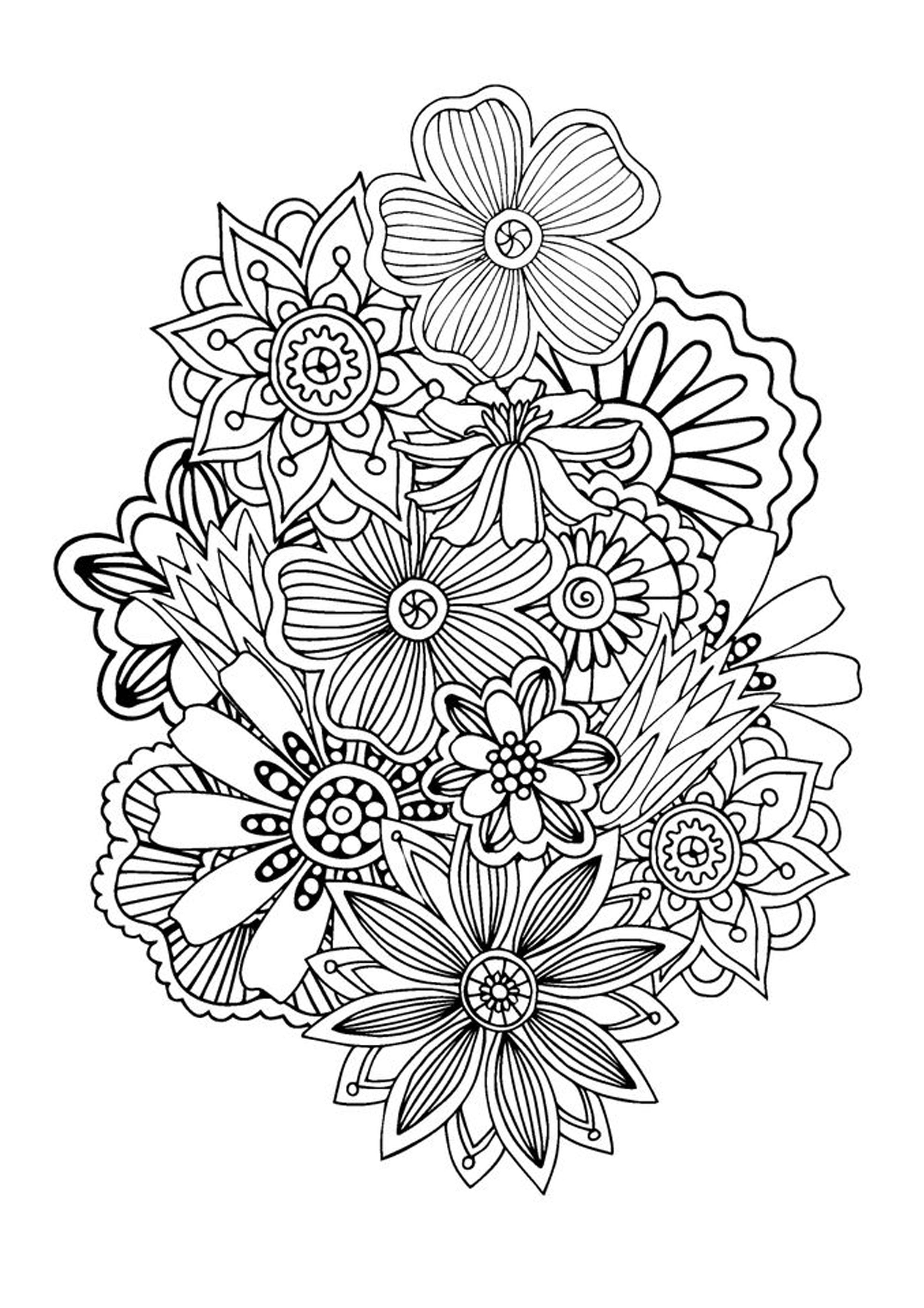 Zen And Anti Stress Coloring Pages For Adults Abstract Coloring Pages Antistress Coloring Designs Coloring Books