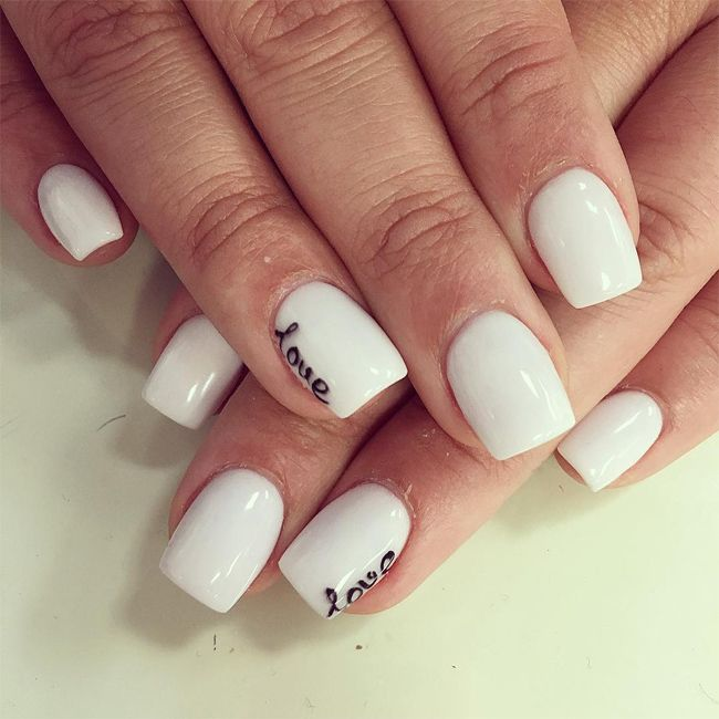 Superlative white nail polish for short nails nail designs nail designs for short nail nail design is among the most preferred fashion patterns of today and also nail painting is prinsesfo Choice Image