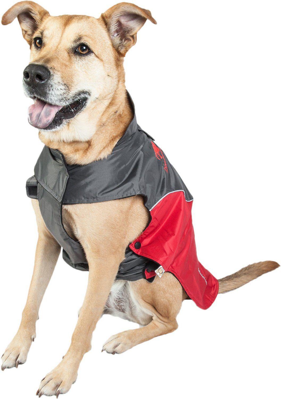 Touchdog Subzero Storm Reflective Dog Coat, Red, XLarge