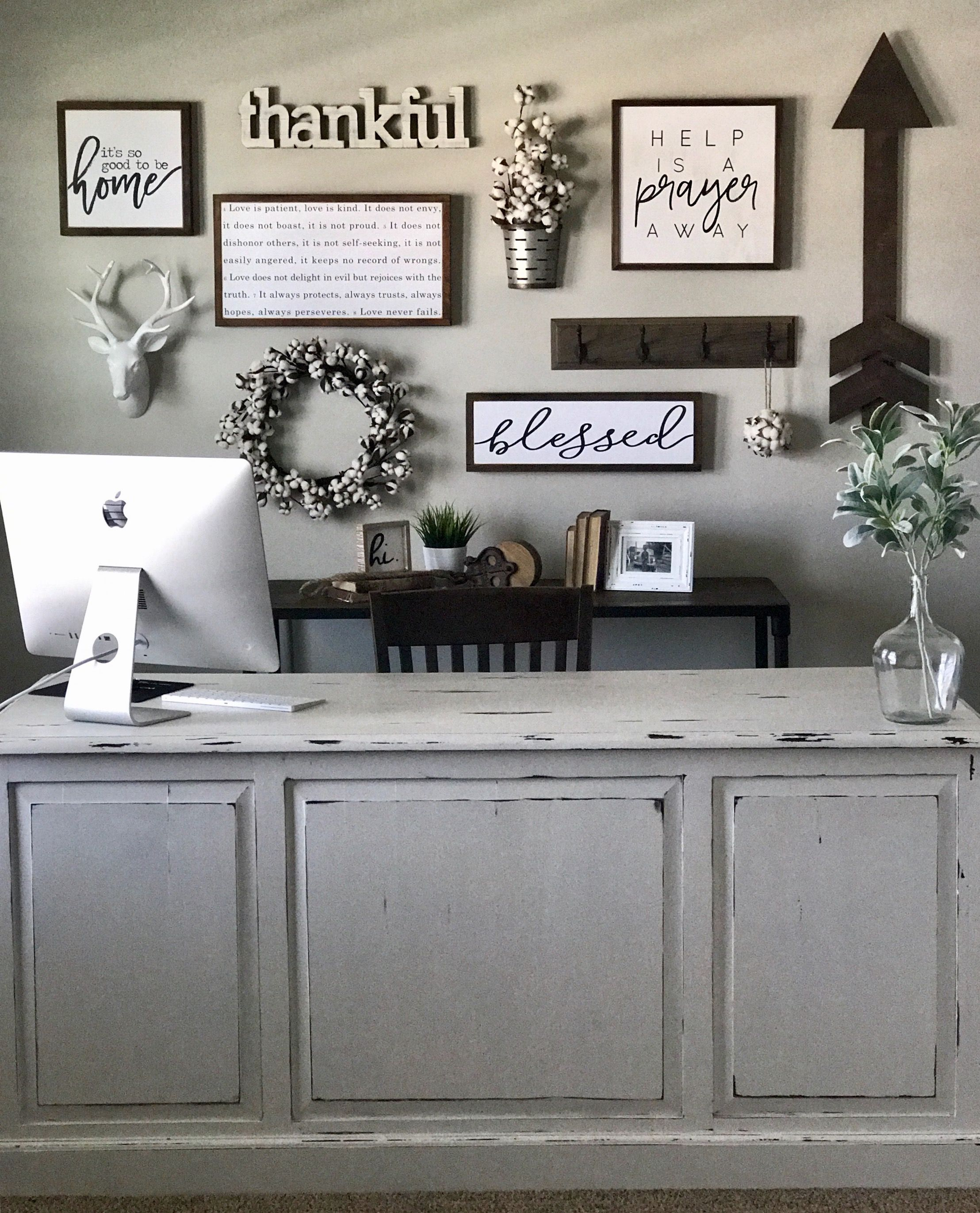 Pin By Zack Hall On Farmhouse Home Decor Home Office Decor