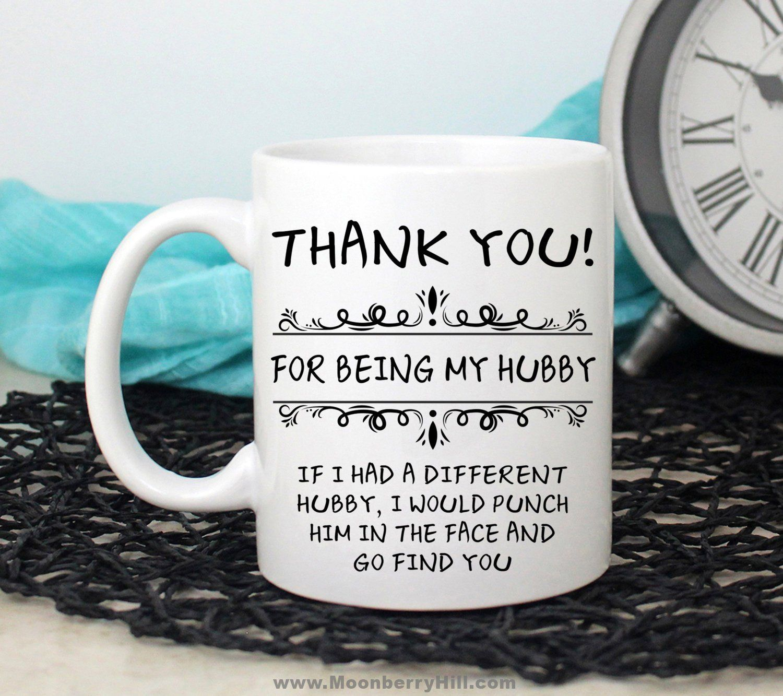Funny husband gift hubby gift husband mug funny mug for