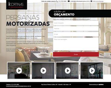 Landing Page para Icortinas