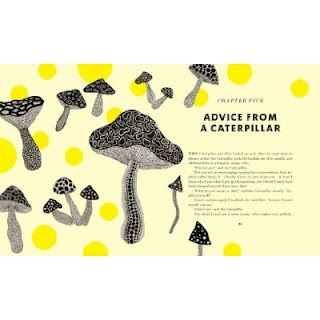 from Penguin UK and Yayoi Kusama comes a striking version of Alice's Adventures in Wonderland with colorful dots and twisted typography.