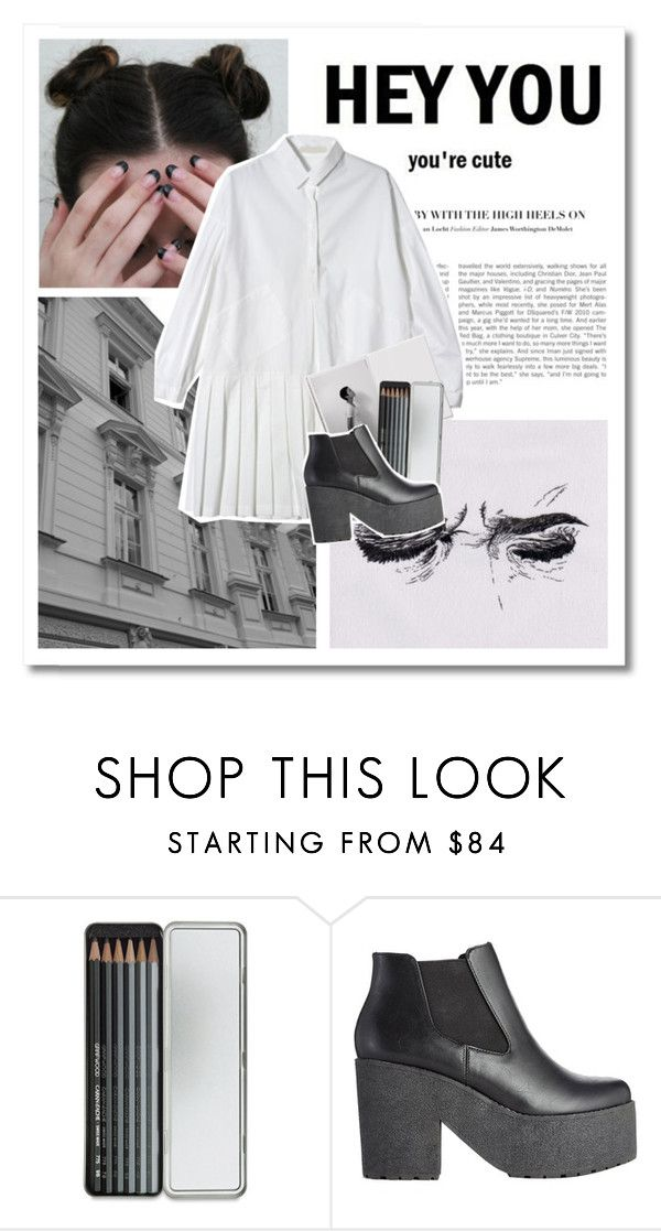 """t e m p o r a r y  f i x"" by pinksweetpea ❤ liked on Polyvore featuring Caran D'Ache and ASOS"