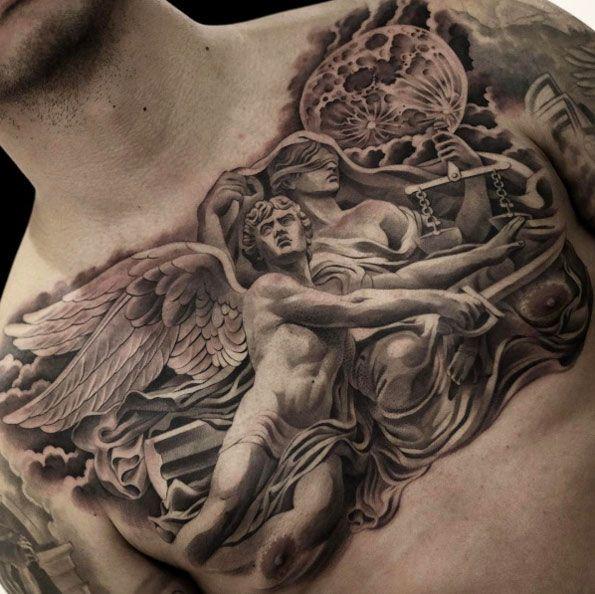 можно сделать религиозные тату фото на боку существовании