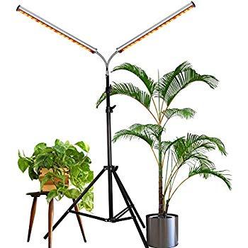 Amazon Com Led Grow Light Aceple Two Heads Gooseneck 400 x 300