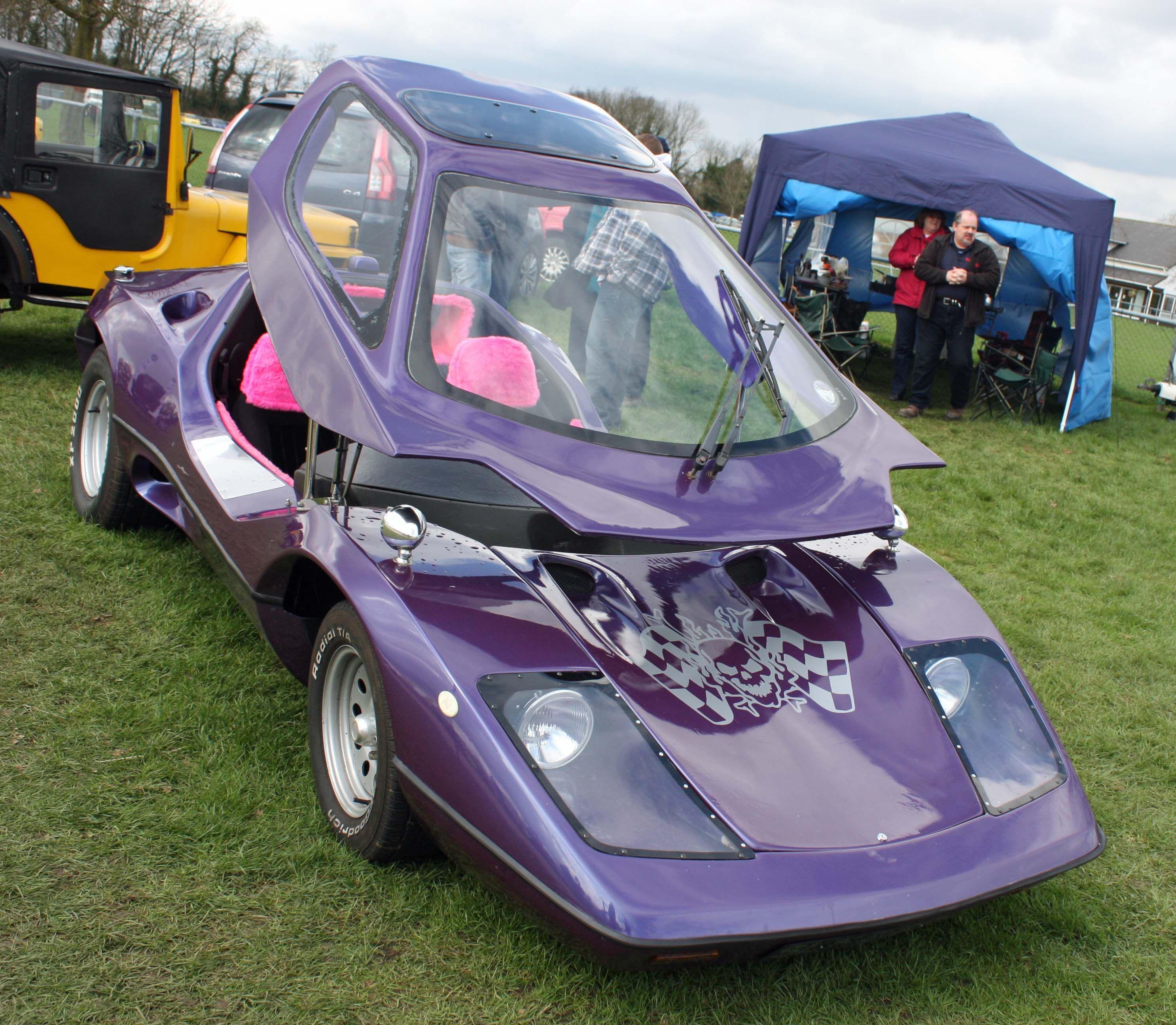 crazy car at the kit car show kent uk cars crazy cool. Black Bedroom Furniture Sets. Home Design Ideas