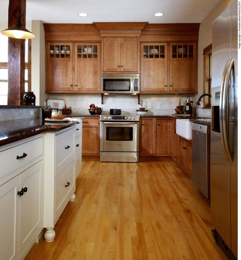 Is Mixing Kitchen Cabinet Finishes Okay Or Not In 2020 Kitchen Remodel Vinyl Flooring Kitchen New Kitchen Cabinets