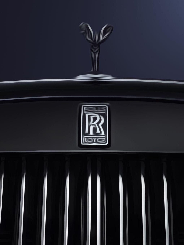 Pin by Mani on Car | Rolls royce black, Rolls royce emblem ...