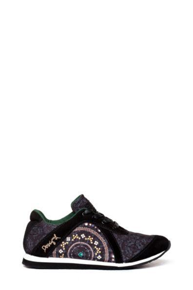 b28f86462977b2 Desigual 39 Diseñador Mujer Crazy Deporte Zapatos rCrTwq6