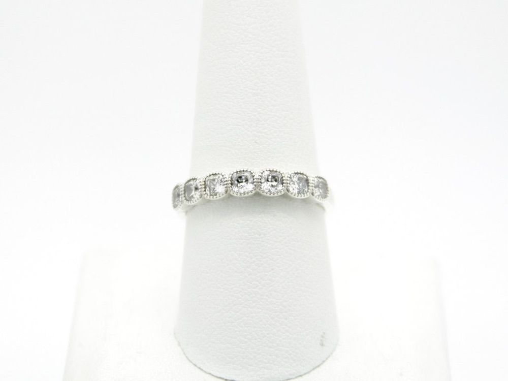 4f788c92f Pandora S925 ALE 60 Alluring Cushion Stackable Ring, Clear CZ, Size - 9 # PANDORA #Stackable