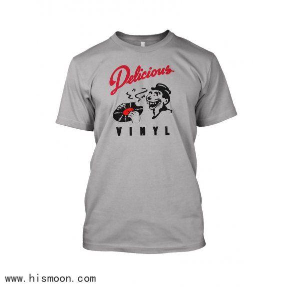 Delicious Vinyl T Shirt Hip Hop Rap Music Label T Shirt Rap Music Hip Hop Rap Music Labels