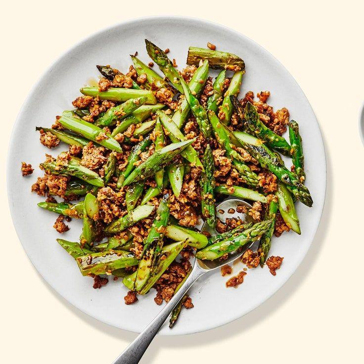 Pork and Asparagus Stir-Fry   Recipe in 2020   Asparagus ...