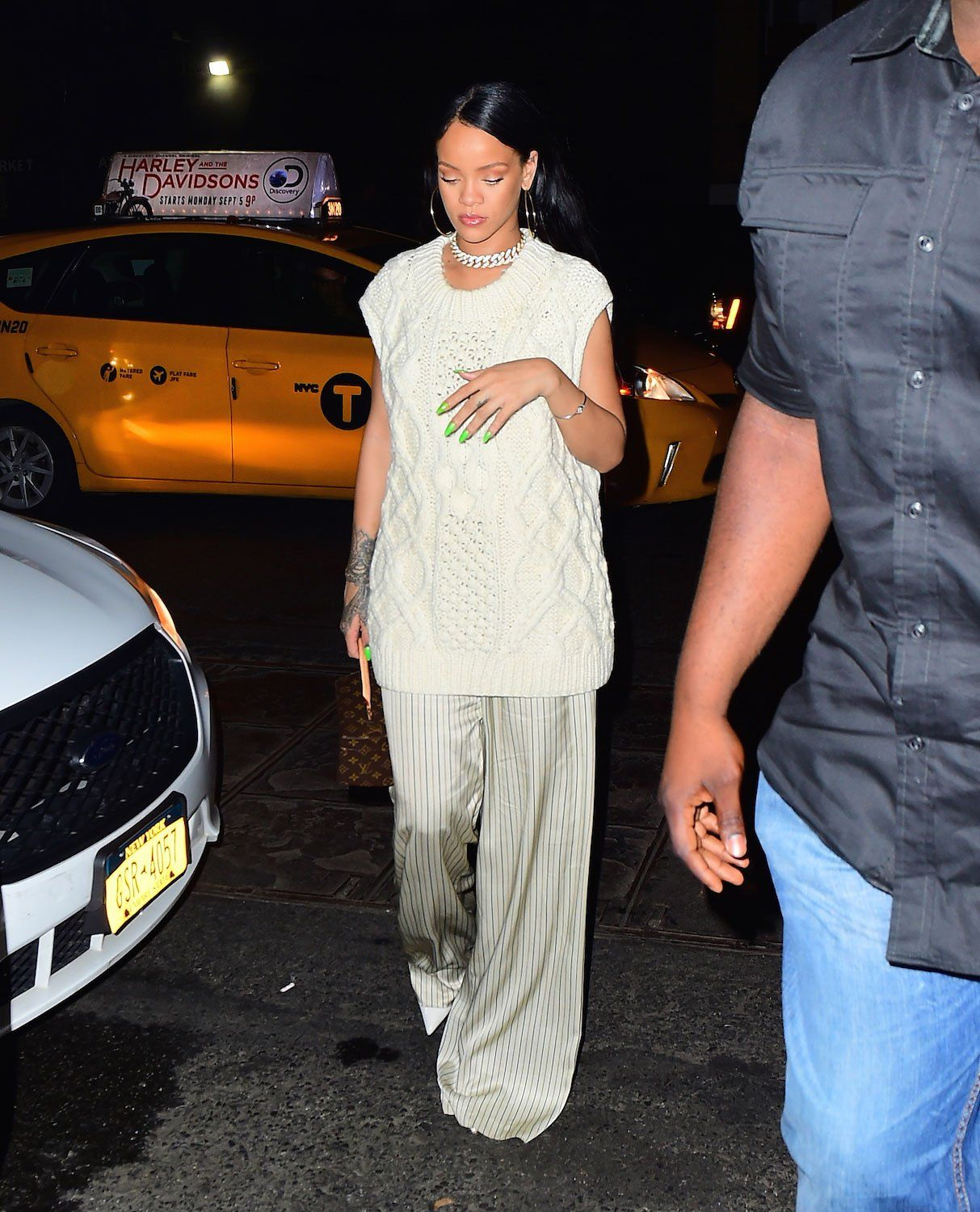 Rihanna News And Photos: Rihanna Does Laid-Back Party Style In New York