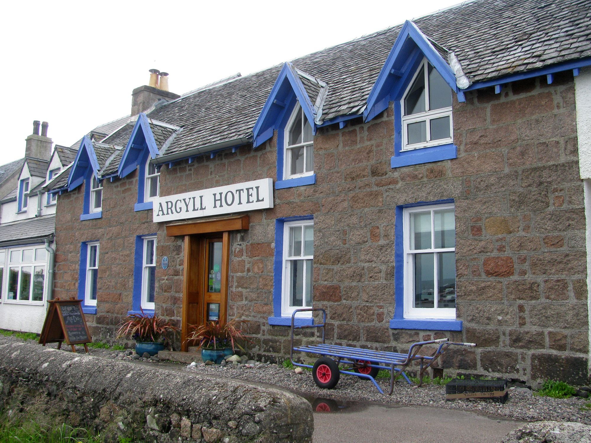 Argyll Hotel Village Of Iona Scotlandbuildings