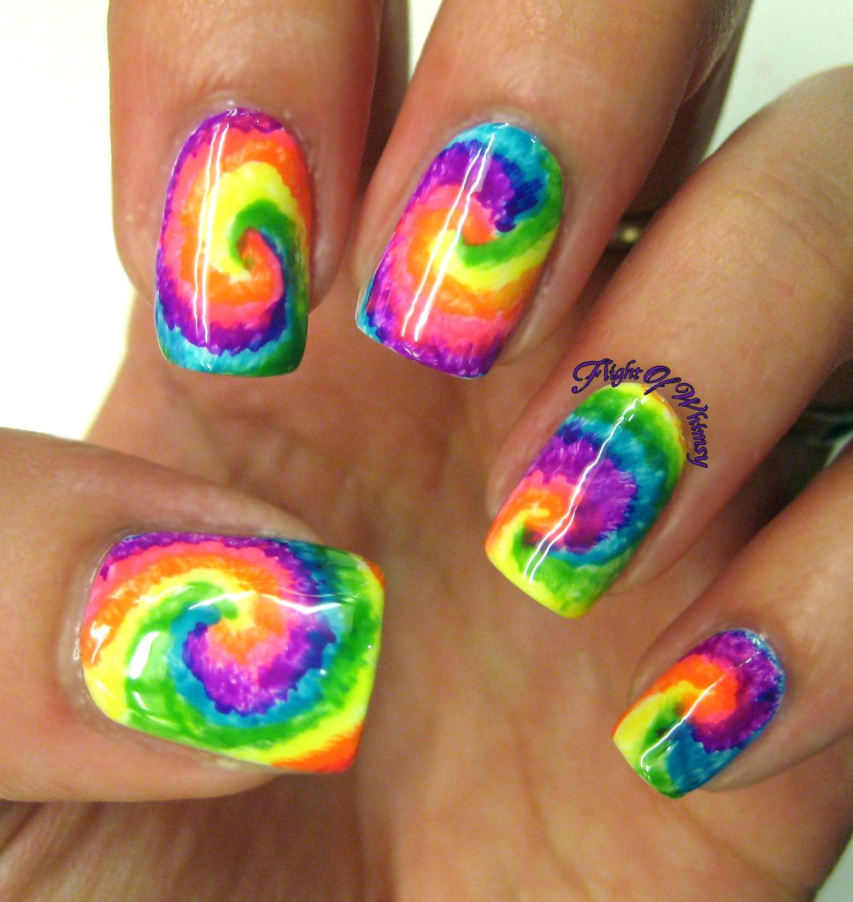 Tie Dye | Smurfs, Make up and Nail nail