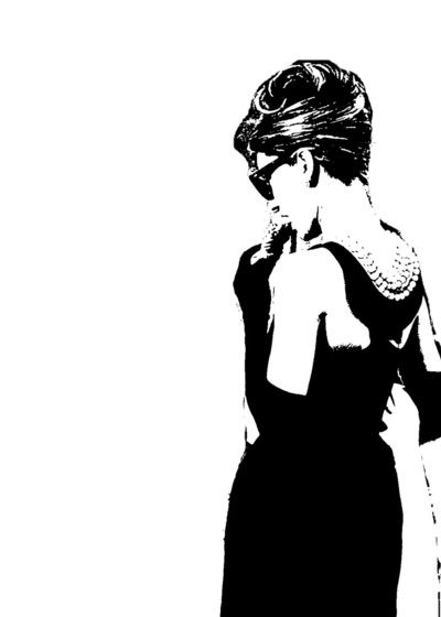 40c66abaded Audrey Hepburn  1 Art Print