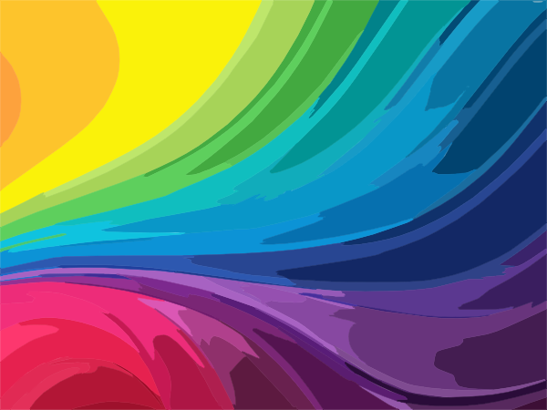 Abstract Clip Art Abstract Rainbow Background Clip Art In 2020