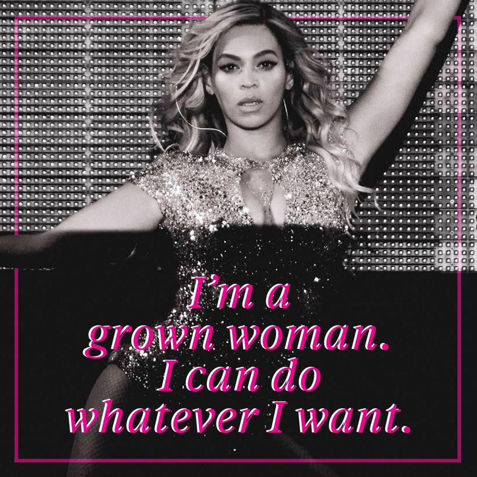 15 Beyoncé Lyrics Every Grown Woman Needs in Her Life