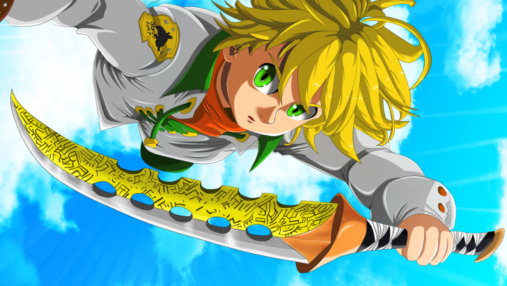 Meliodas Lostvayne Sword Seven Deadly Sins Wallpaper