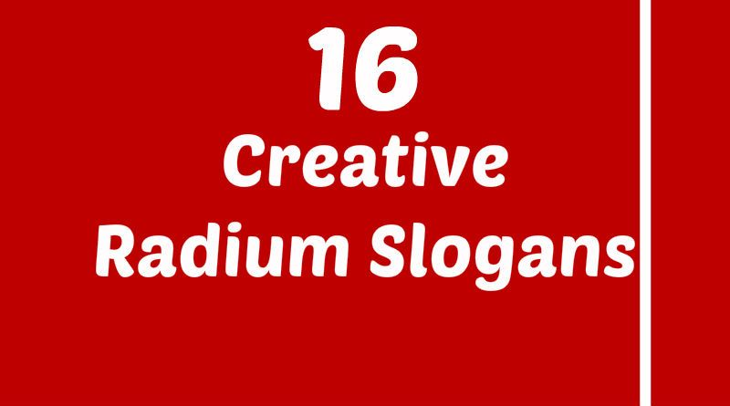 Radium Slogans Element Slogans Slogan